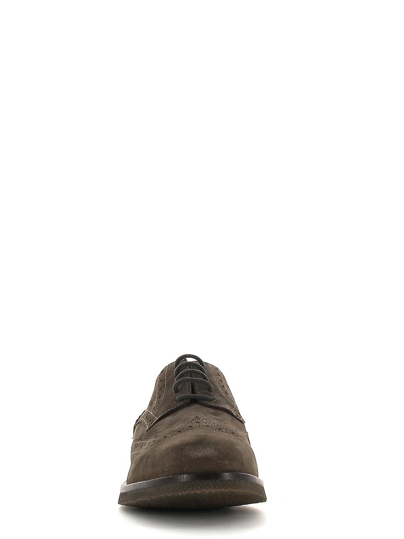 Geox Scarpe Uomo Stringata camoscio Marrone U3458J 00022