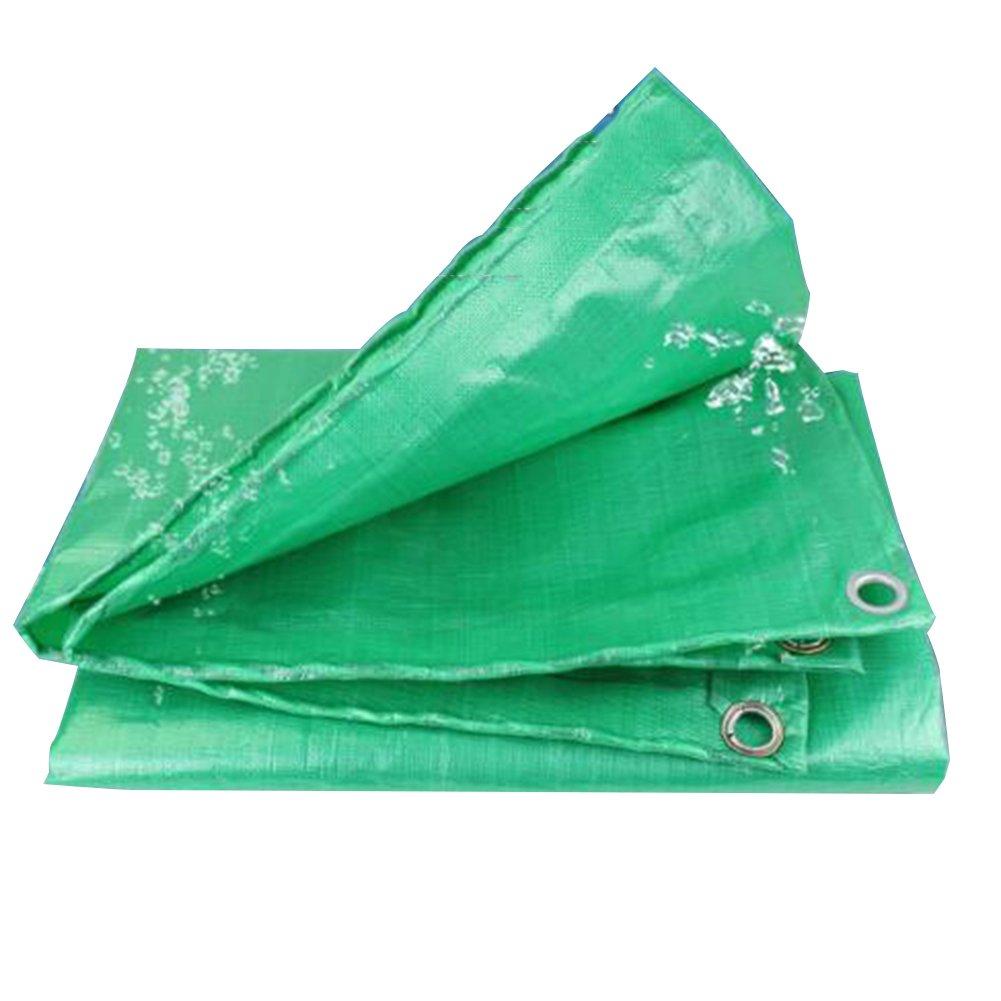 PENGFEI オーニング 防水 トラック 日焼け止め 車両 防塵の 農業 シェード 耐高温性 耐腐食性、 緑、 厚さ0.26mm、 300g / m 2、 14サイズ ( 色 : 緑 , サイズ さいず : 4x6M ) B07BP67681 4x6M 緑 緑 4x6M