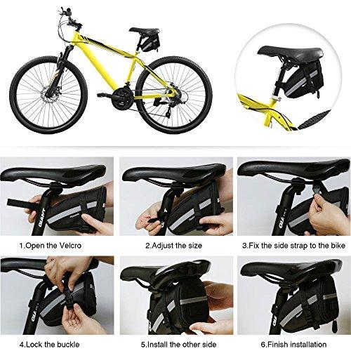 Hommie Bicycle Repair Bag, Set Bike Repair Tools 7 in 1 Kits by Hommie (Image #4)