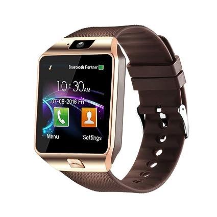 Aeifond Smart Watch DZ09 Bluetooth Smartwatch Touch Screen Wrist Watch Sports Fitness Tracker with Camera SIM SD Card Slot Pedometer Compatible iPhone ...