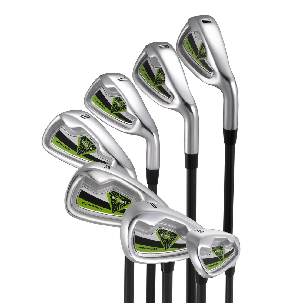 Young Gun ZAAP Junior Kids Golf Right Hand PW Irons & Wedges Age: 12-14