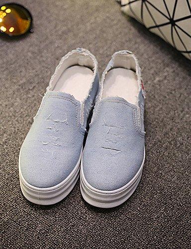 Exterior 5 Casual Azul uk6 5 eu39 cn40 blue blue us8 Mocasines mujer Zapatos Tacón eu39 5 Bailarina Oficina Tela Negro us8 dark uk6 y Plano Trabajo 5 cn38 eu38 uk5 dark Vestido 5 de dark us7 ZQ blue 7ZBqx0w