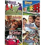 CAPSTONE 603826 - Juego de 6 libros, diseño de El Mundo Multicultural, 6 unidades