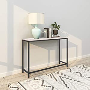 Console Sofa Tables End Table Computer Desk Coffee Snack Console Tables for Living Room Or Corridor Hallway