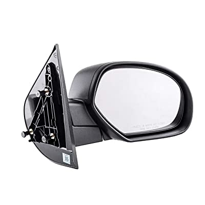 Dependable Direct Right Passenger Side Textured Non-Heated Manual Folding Manual Operating Mirror for 07-13 Chevy Silverado. 2008-2014 GMC Sierra - Parts Link #: GM1321332: Automotive