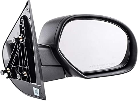 Jeep CJ-Style Passenger Side Mirror Manual Non-foldaway Non-Heated Black