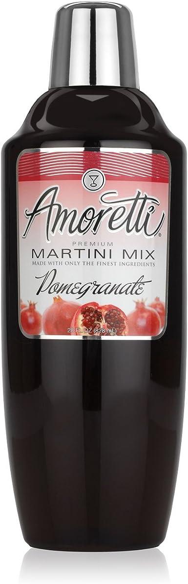 Amoretti Granada Martini Cocktail Mix, 28 Oz Fl: Amazon.es ...