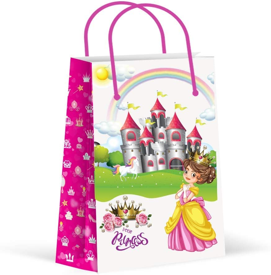 Princess Party Favor Bags for 12 Guests