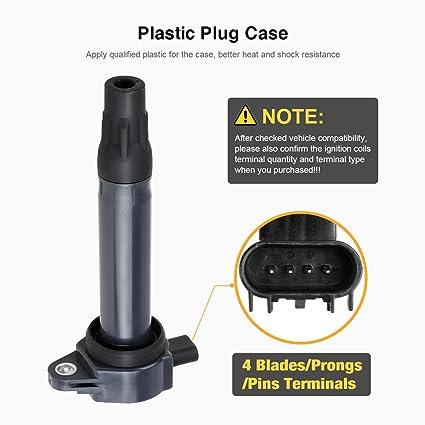 Amazon.com: QYL bobinas de encendido, 4 unidades: Automotive
