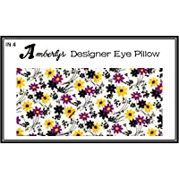 Amberly Lavender Yoga & Mediation Eye Pillow with Washable Covers for Relaxing Insomnia Relief (IN 4)