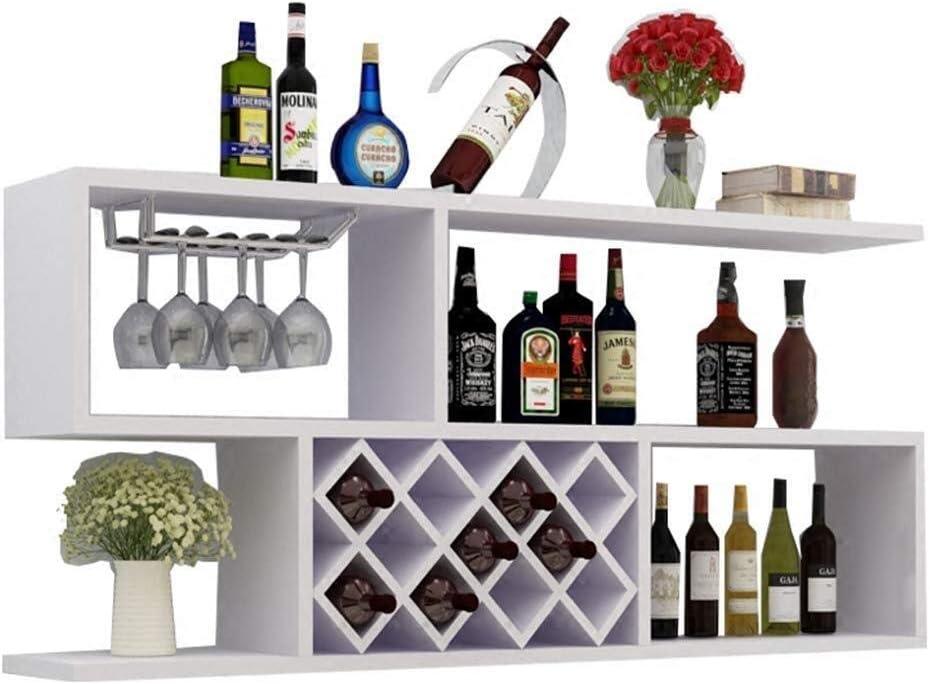 Zxyan ワインホルダー ワインラック おしゃれ 保管ワインのための棚、ワインは、ワインラック/ホームリビングルーム本棚レストランワインラック/装飾ワインラックワイングラスラック壁掛けラック インテリア カウンタートップ テーブル 自宅に最適