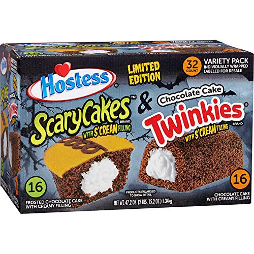 Hostess Limited Edition Halloween Cupcakes and Twinkies Individually