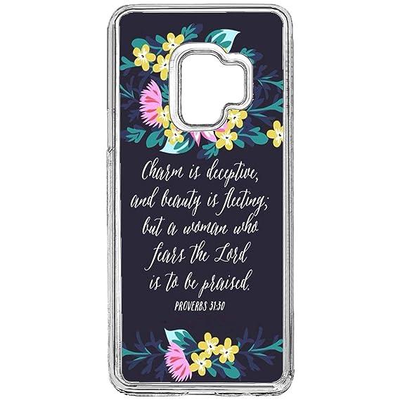Amazon com: Samsung Galaxy S9 Bible Verse Case,Christian Songs