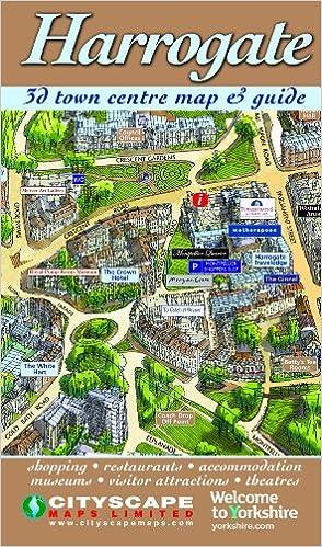 Harrogate 3D Town Centre Map Guide Amazoncouk 9781860801235 Books