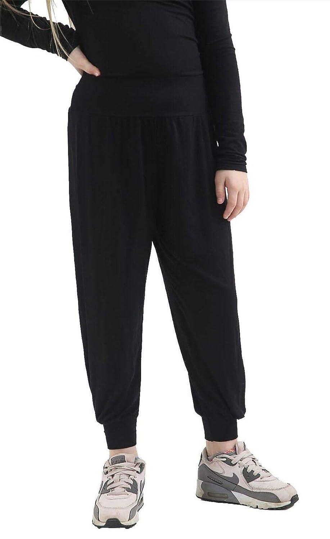 Hi Fashionz Kids Ali Baba Harem Pants Girls Plain and Printed Ali Baba Baggy Trousers Leggings