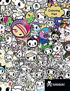 tokidoki coloring pad - Tokidoki Unicorno Coloring Pages
