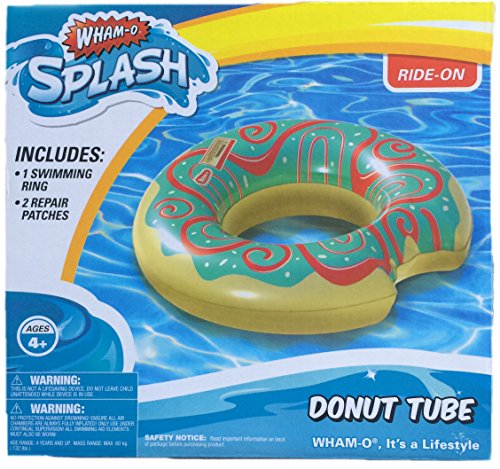 Wham-O Inflatable Green Icing Donut Water Tube Pool Float