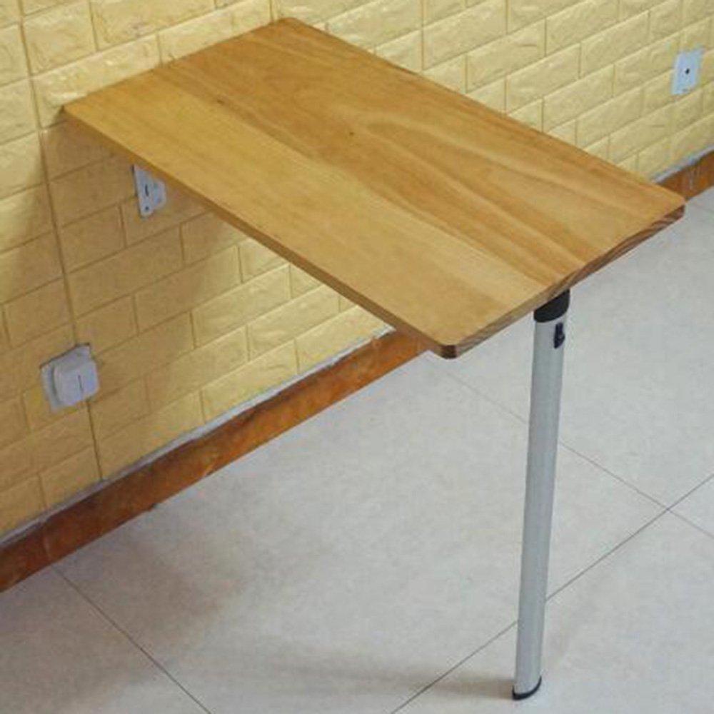 XIAOLIN ソリッドウッドダイニングテーブルウォールフォールディングテーブル小型家庭用ダイニングテーブルコンピュータラーニングディナーテーブルオプションの色、サイズ (色 : 02, サイズ さいず : 74*40*74cm) B07DWMSJL5 74*40*74cm 02 2 74*40*74cm