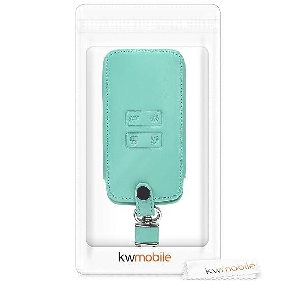 Solamente Keyless Go - Cubierta de Cuero sint/ético Case para Mando y Control de Auto con dise/ño I Love my Car kwmobile Funda para Llave Smart Key de 4 Botones para Coche Renault