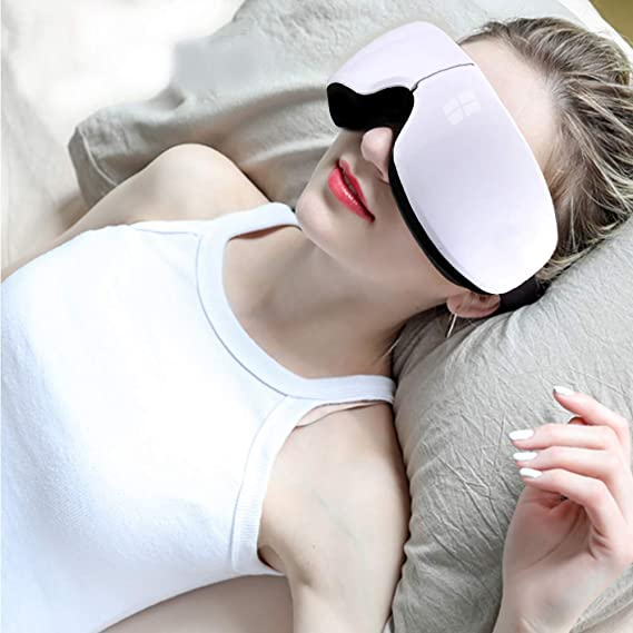 Masajeador de ojos eléctrico inalámbrico recargable con ...