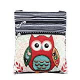 2018 Cheap Canvas Handbags for Girls Mini Owl Bags for Women