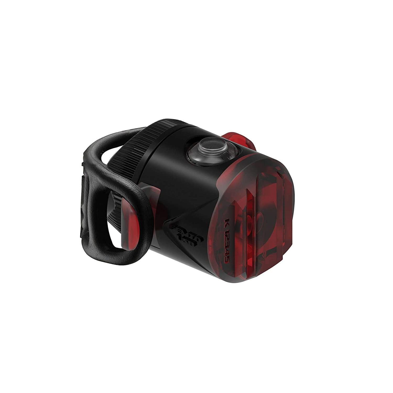 Medio Adultos Unisex LEZYNE LED FEMTO USB Rear Black 5 LUMENS Negro