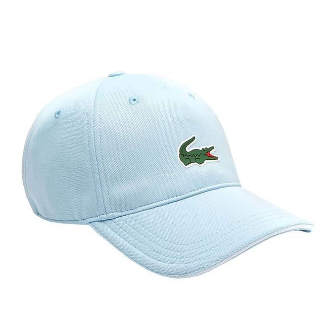 Lacoste - Gorra de béisbol - para Hombre Azul Light Blue/White L ...