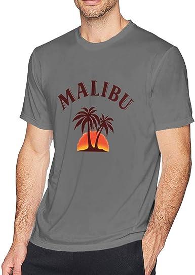Malibu Ron Camiseta Hipster Camisetas de Manga Corta de ...