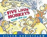 Five Little Monkeys Wash the Car, Eileen Christelow, 0547315988