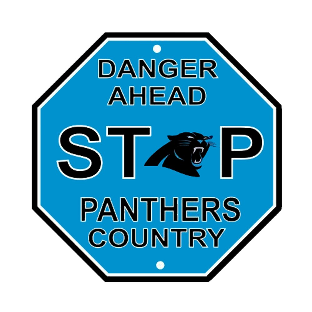 Amazoncom Carolina Panthers Nfl Team Logo Garage Home Office Wall