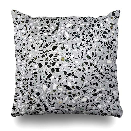 Ahawoso Decorative Throw Pillow Cover Square 16x16 Cosmos Concrete Changable Terrazzo Marble Texture Cummings Speckle Nebulae Pattern Your Gray I Carry Cushion Case Home Decor Zippered Pillowcase (On Pillow Cumming)