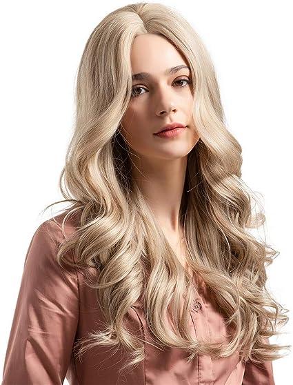 Angelof Grease - Peluca de pelo natural para mujer: Amazon.es: Belleza