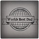 3dRose Worlds Best Dad Mouse Pad (mp_183536_1)