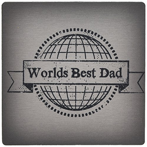 3dRose Worlds Best Dad Mouse Pad (mp_183536_1) by 3dRose