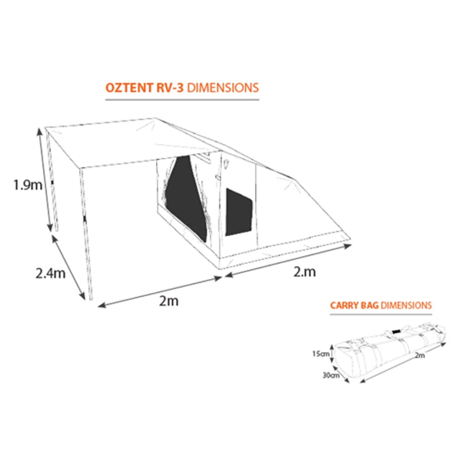 sc 1 st  Amazon.com & Amazon.com : Oztent 30 Second Expedition Tent : Sports u0026 Outdoors