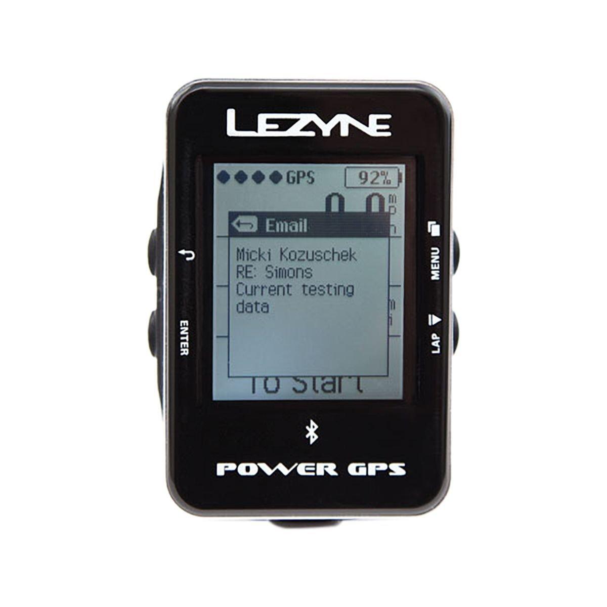 Lezyne Power GPS Bike Computer, Polish/Hi Gloss