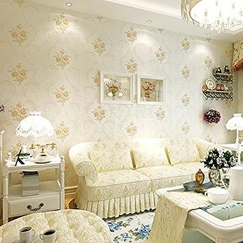 KHSKX Bronzierens, Große Blumen, Dreidimensionalen Skulptur Aus Tapete,  Hochzeit, Wohnzimmer,