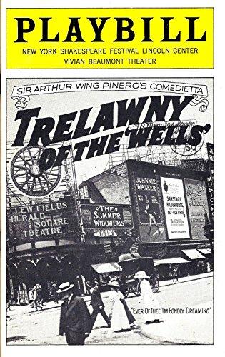 "Meryl Streep (Debut)""TRELAWNY OF THE WELLS"" Mandy Patinkin 1975 Public Theatre Playbill"