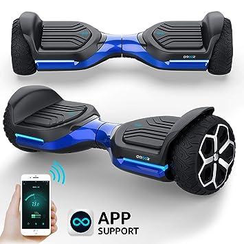 Amazon.com: Hoverboard Off Road All Terrain Auto balanceo ...
