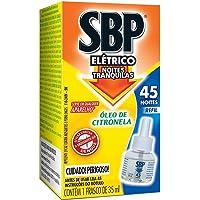 SBP Repelente Elétrico Líquido 45 Noites Citronela Refil 1 unidade 35ml