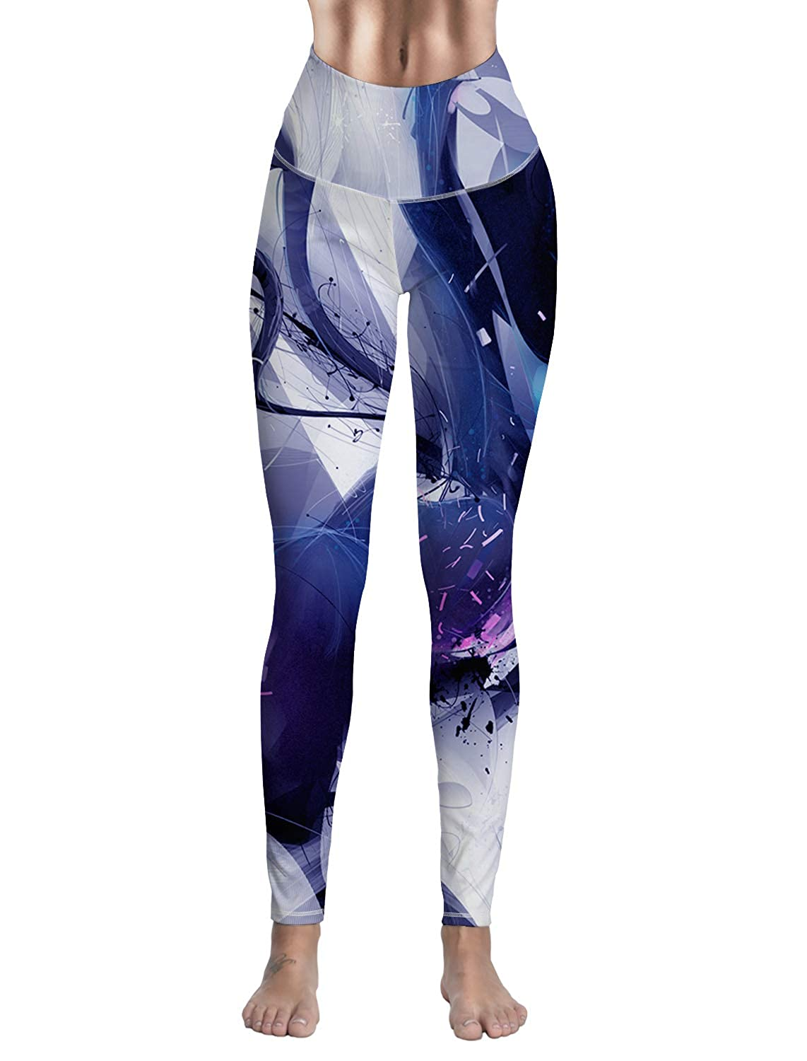 Amazon.com: Fandim Fly Women Yoga Leggings- High Waisted ...
