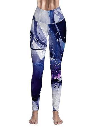 7bba8f33e9513 Amazon.com: Fandim Fly Women Yoga Leggings- High Waisted Tight Yoga Pants  Workout Leggings Fitness Sports Capris: Clothing