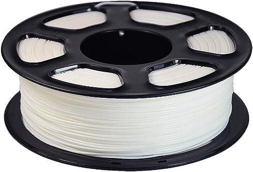 WSHZ Filamento de Impresora 3D PLA, filamento ABS, precisión ...