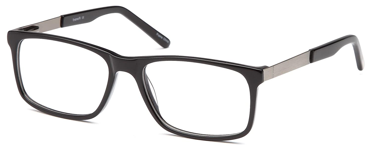 Amazon.com: DALIX Wayfarer Prescription Eyeglasses Frames 54-17-140 ...