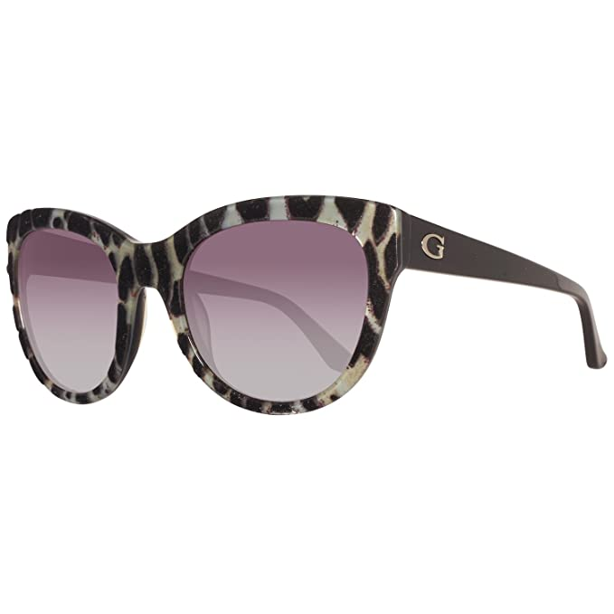 GUESS GU7429-5605B, Gafas de Sol para Mujer, Multicolor, 56