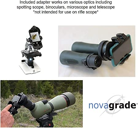 Novagrade - Adaptador universal para teléfono Digiscoping: Amazon ...