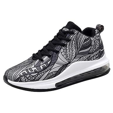 MISSWongg _Zapatos para Hombre Los Hombres de Tejido de Malla ...