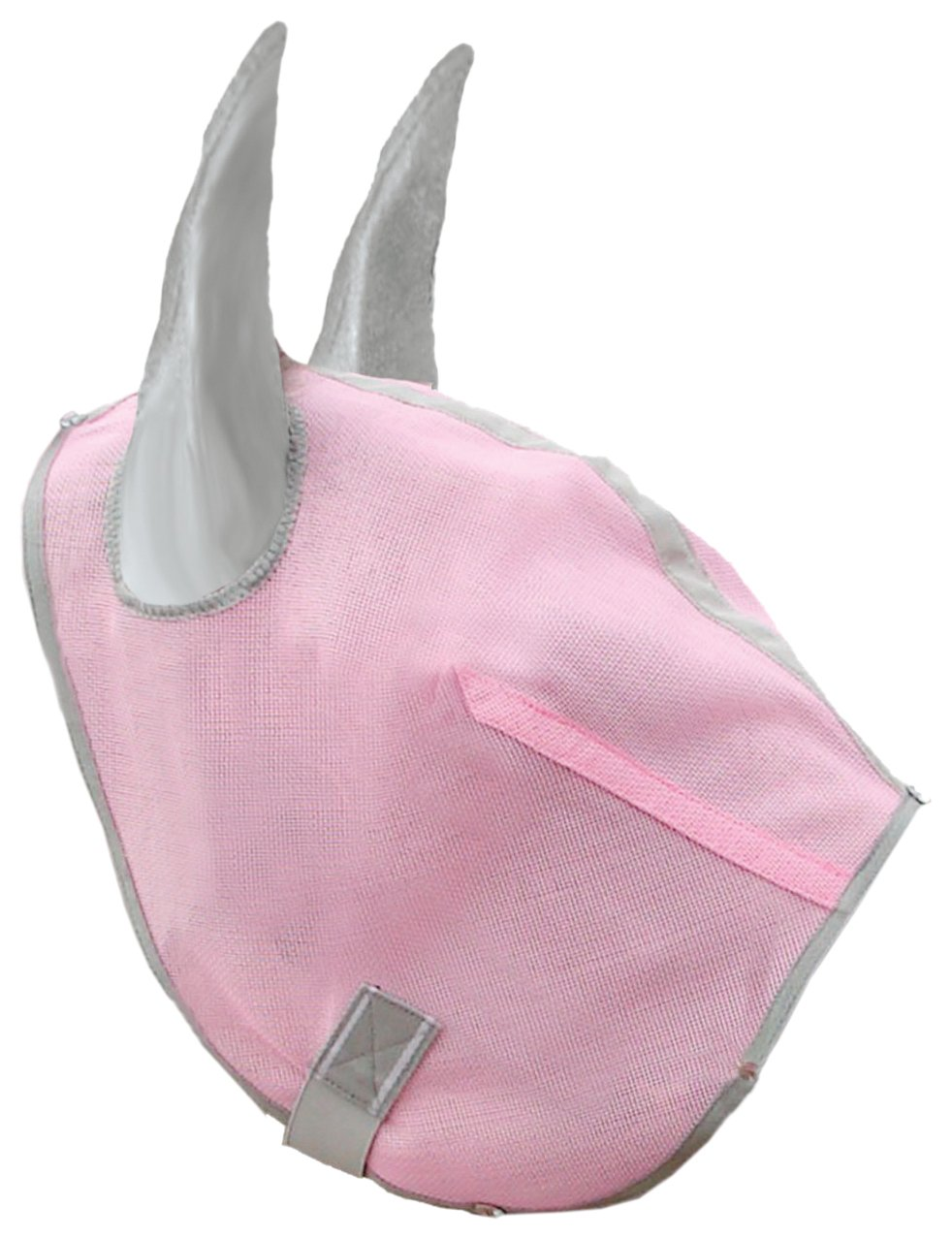 Hamilton Fly Mask for Horses With Ears - Small - Pink Diamond
