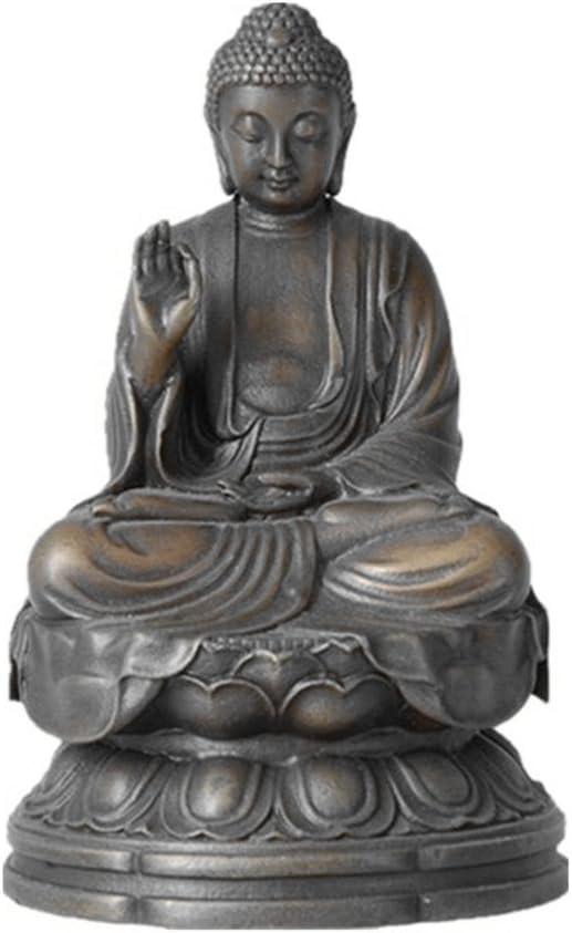 Toperkin Small Buddha Statues TPFX-B135 Buddhist Bronze Sculptures Buda Home Decor