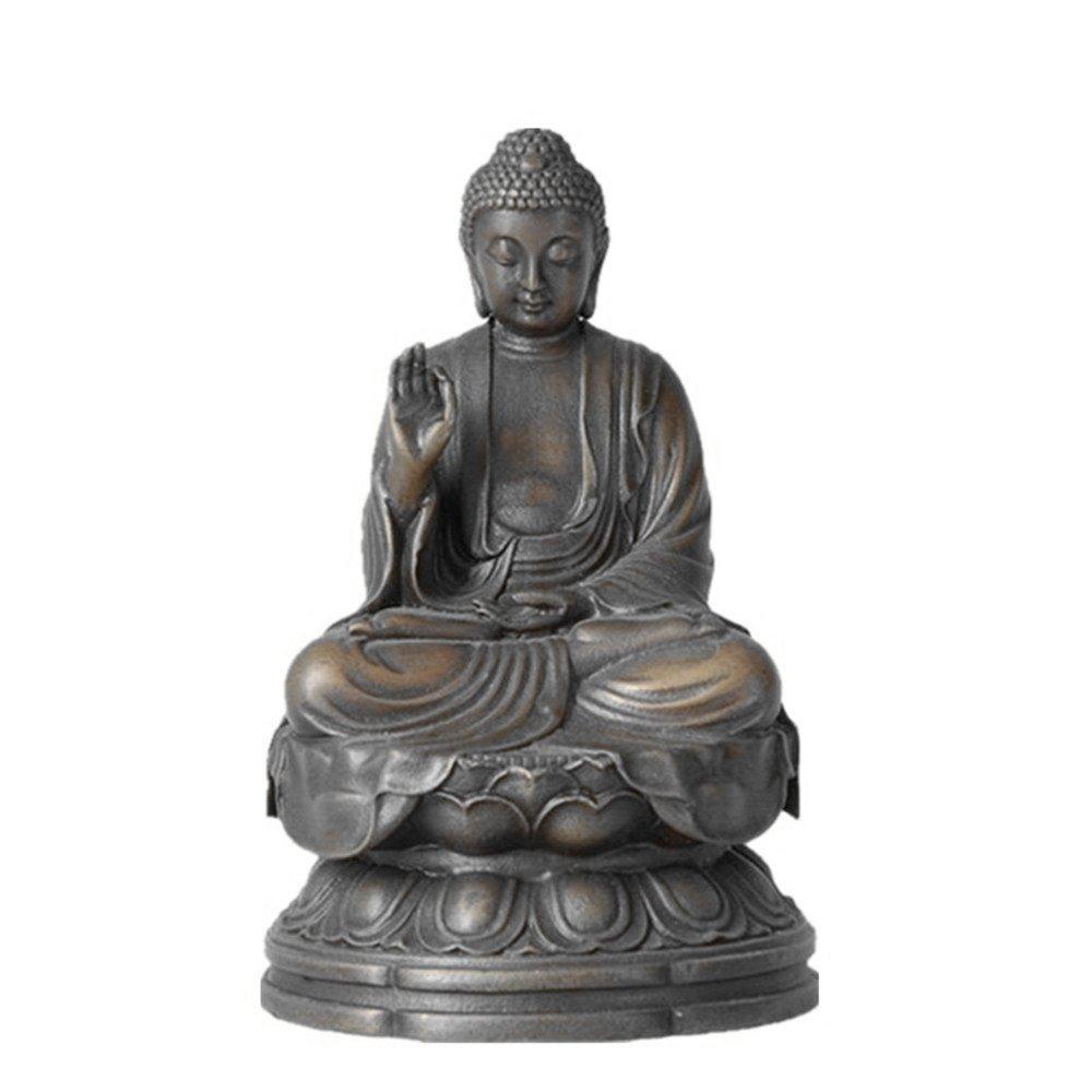 Toperkin Small Buddha Statuen TPFX-B135 Bronze Skulpturen Buda Home Dekor